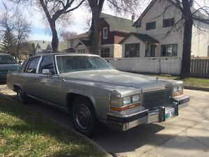 1986 Cadillac fleetwood with safety