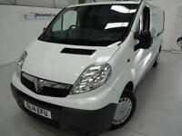 Vauxhall Vivaro 2900 CDTI LWB + JUST SERVICED + MARCH 18 MOT