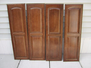 4 solid wood cabinet doors $50 for all four