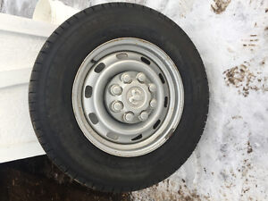 Set of 4 Michelin tires/rims