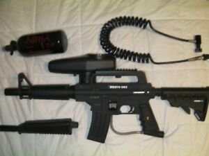 Tippmann bravo one, e-grip, cyclone feed.