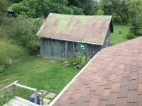 Require barn removal and barn construction