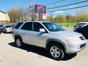 Acura MDX 4WD-Auto-7 Passagers-Cuir-Toit 2002