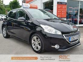 PEUGEOT 208 ALLURE, Black, Manual, Petrol, 2012