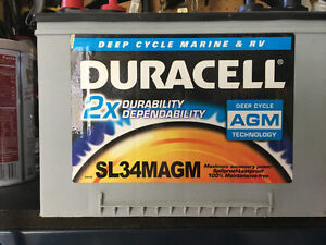 Duracell AGM Battery