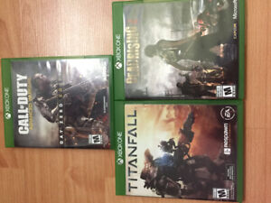 XBOX ONE GAMES 4 SALE ($40)