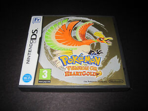 Pokémon Version Or Nintendo DS Pokémon HeartGold (En Français)