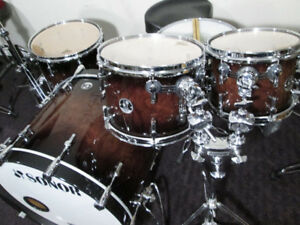 Sonor Delite, 22, 14, 12, 10. 14x6.  Made In Germany,  Like New