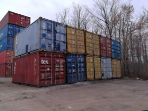 Wind & Water Tight Shipping and Storage Containers