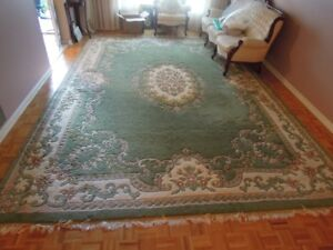Indian Hand Knotted Wool Rugs - 2 identical