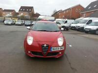 Alfa Romeo MiTo 1.4TB 155bhp Veloce 3 DOOR - 2009 59-REG - 10 MONTHS MOT
