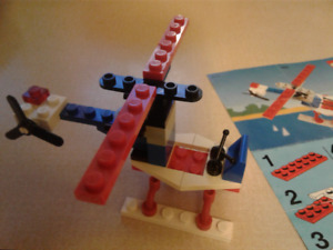 LEGO 1630 Classic Town mini helicopter 1990