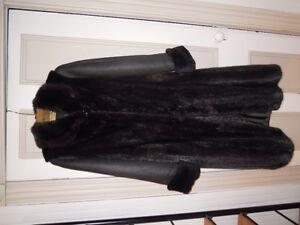 Magnifique manteau de vison