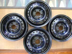 4 Rims, jantes NEUVES Noir 5x 114,3mm Universel