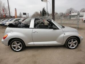 2005 CONVERTIBLE CHRYSLER PT CRUISER-GT 2.4L Turbo-With LEATHER