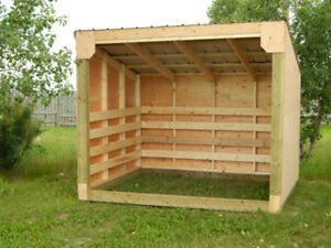 Custom Built Sheds and Shelters!