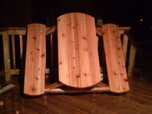 Picnic tables, Patio tables, Planters, Benches +++