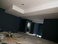 Drywaller, taper, finished ceilings, ceiling repair