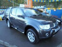 2011 11 MITSUBISHI L200 2.5 DI-D BARBARIAN DCB LB IN GREY # TOP SPEC NO VAT #