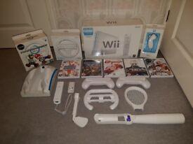 Nintendo Wii Bundle ideal Xmas present (as new)