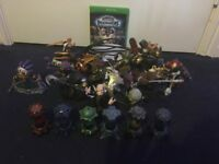 Skylanders bundle. Well over a hundred figures and accessories