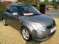 2006 SUZUKI SWIFT 1.5 VVTS AUTO, 101 BHP, 1.5 PETROL, FACELIFT EDITION