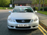 2005 55 Lexus GS 300 3.0 SE CVT 4dr WITH FSH+KEYLESS ENTRY+NAV+CAM