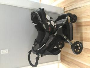 BRITAX BOB 3in 1 stroller carrier car seat