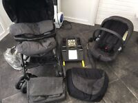 Travel system pushchair/Isofix car seat
