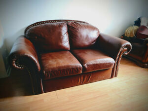 Couch (leather)/Divan (cuir)