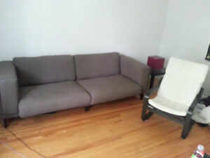 IM MOVING! BEST DEALS Nockerby 3p sofa+ Poang armchair