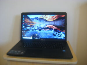 "17.3"" Asus Laptop, Intel Pentium CPU, 8 GB RAM, 1.0 TB HDD, DVD"