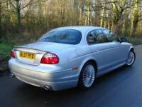 2007 07 Jaguar S-TYPE 2.7D V6 auto XS..LOW MILES..HIGH SPEC..STUNNING !!