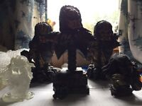 Predator busts