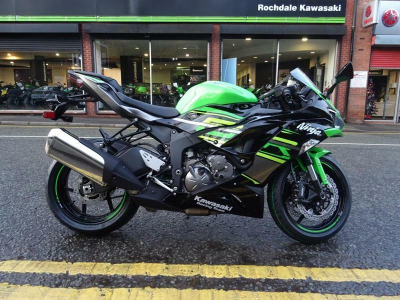 Demo Bike 7899 Kawasaki Zx6r636 All New Model For 2019