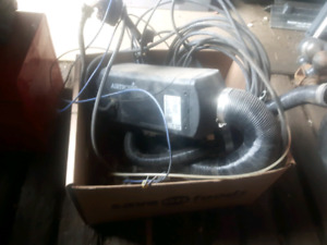 Engine and bunk heater for sale
