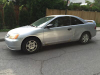 2001 Honda Civic Coupe (2 door) Automatic