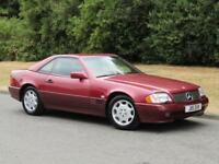 1992 Mercedes-Benz SL 300 24 Valve Auto 2 Door Convertible Coupe
