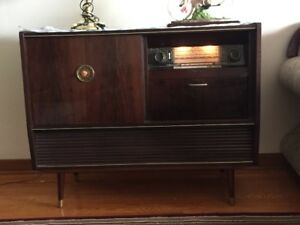 "Antique ""Kuba Stereo Radiogram"" Console for Sale"