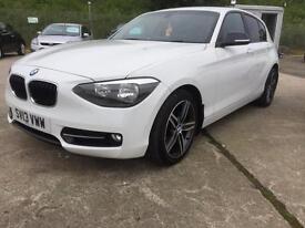 BMW 116 1.6i Sport( 136bhp ) Sports Hatch 2013
