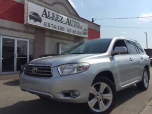 2009 Toyota Highlander Limited, 4WD, 7 Seater.