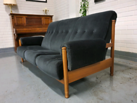 Beautiful Mid Century vintage Ercol sofa+ free delivery