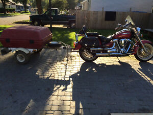 Mint 2001 Yamaha road star/trailer