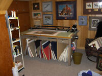 PICTURE FRAMING EQUIPMENT AND INVENTORY
