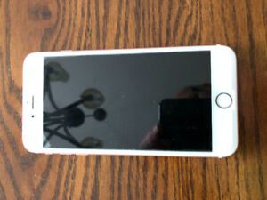IPHONE 6S PLUS ROSE GOLD 64KB WTH CASE AS NEW