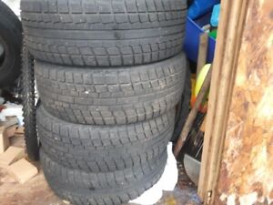 Winter Tires (used) For Sale- 205 65 15