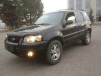 2005 Ford Escape LIMITED **Model Cuir **ToitOuvrant**4X4**