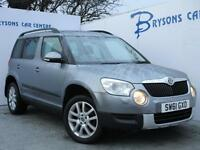 2012 61 Skoda Yeti 2.0TDI CR ( 170ps ) 4x4 DPF Elegance for sale in AYRSHIRE