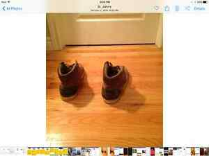 Size 13 brown high tops