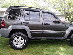 2005 Jeep Liberty SUV, Crossover RARE 6 SPEED MANUAL